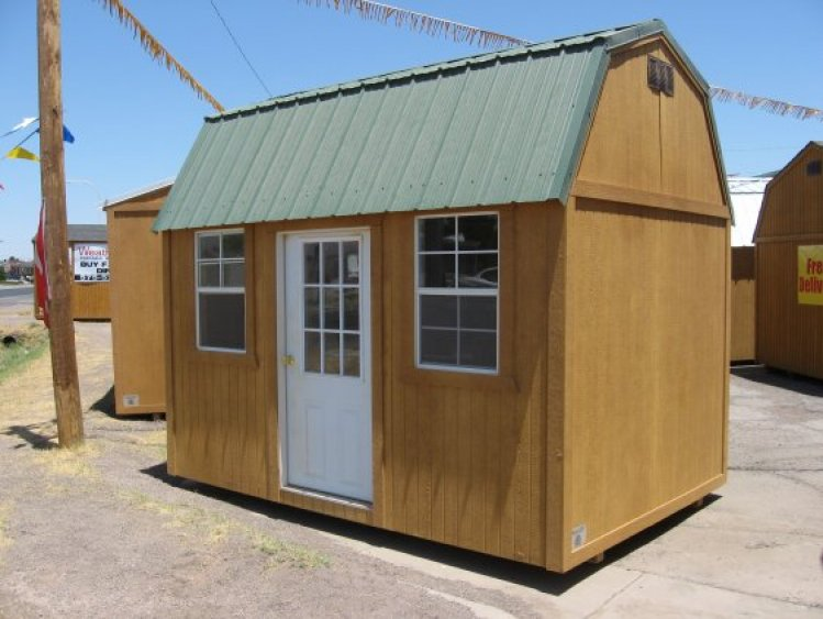 Weather King Portable Buildings : How much side to clearance does the installer need