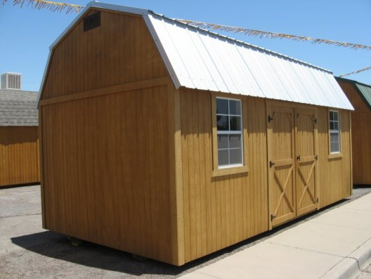 Weather King Portables : Barn new mexico weatherking
